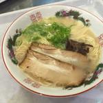 きざん亭 - とんこつラーメン=540円