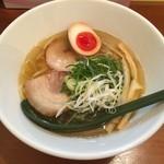 麺屋 はなぶさ - 塩そば(700円)