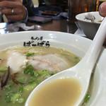 ばーばら - 鶏塩白湯らーめん