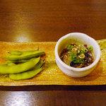 魚料理中村 - 料理写真:突出し