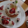 海と入り陽の宿 帝水 - 料理写真:オリジナルパンケーキ