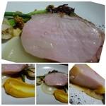 TTOAHISU - *肉質・焼き加減もいいですね。厚目にカットされているので「豚」の旨みを味わえます。