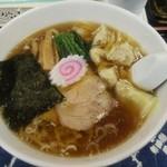 もめん - ワンタン麺(\800)