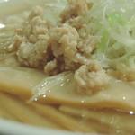 麺屋 ふぅふぅ亭 - メンマ