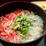 SUNZOK - エビしらす丼 byオクカズ