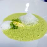 シャンペトル - フランス産グリーンピースのポタージュ