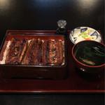 信川円 - 料理写真:うな重(は)4882円