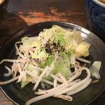 三田製麺所 - ちょこっと野菜