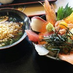 力丸 - 海鮮丼と播州そばのランチ