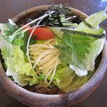 玄 - ランチセットのパスタサラダ