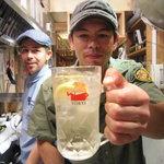 お富さん - 店長の山田トミーさん。※掲載承諾済み