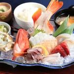 海鮮蔵 魚魚魚 - 地魚直送刺身定食