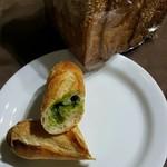 mahalo Turkey - ジャーマン300円、カスクート抹茶クリーム210円