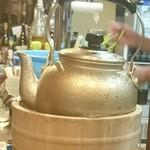 大衆酒場 やかん - やかんの水滴がたまらないキンミヤ焼酎