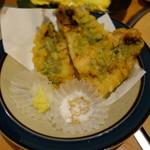 お食事処・居酒屋 竜田屋 - 2016.06 天ぷら盛り合わせ