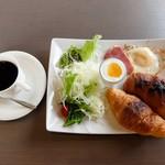 プラージュⅡ - 料理写真:モーニング(全体)
