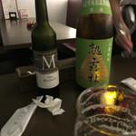 52379099 - 日本酒:ミッシェルと熟露枯