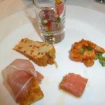 カンブーザ - 前菜5種盛り