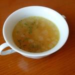 桂木4丁目レストラン - ワンデイッシュのスープ