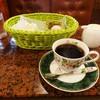 イタリヤ - ドリンク写真:モーニングサービス サンドイッチ 350円