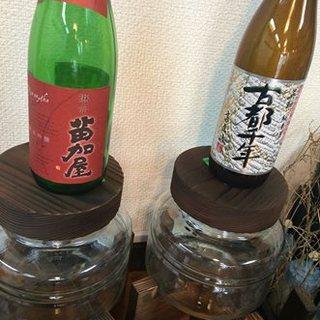 蕎麦に合う日本酒のみを提供しています。