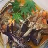 味工房 あおやま - 料理写真:生の渡りがにを特製の醤油ダレにダイブ…。カンジャンケジャン❤