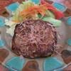 ロン - 料理写真:和風ハンバーグは味付きでおかかのせ