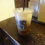 やなか珈琲店 - アイスミルクコーヒー:290円