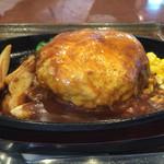 なるみ - Wチーズハンバーグステーキ定食ランチ¥1030