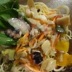 ファミリーマート - 冷たいパスタ 魚介マリネとグリル野菜