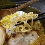 Domiso - 中ちぢれ麺
