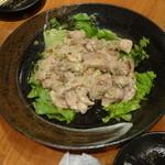 鉄人の店 - 鶏もも肉のネギ塩焼き