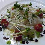 ビストロ波ノ上食堂 - 本日の鮮魚のカルパッチョ