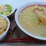 スガキヤ - ラーメン・ポテトサラダセット