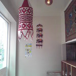 SPICE INDIA - 天井からも色々な装飾がされています