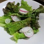 ジャポリ ボタニカ - ランチに付くサラダ