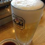 鳳仙花 - ドリンク写真:生ビール
