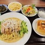 海華 - 料理写真:棒棒鶏冷し麺ランチ\750(16-06)