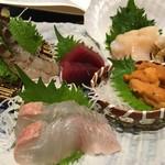 新鮮な魚介類と地酒専門店 おやじの隠れ家 魚武 - [2016/06/14]
