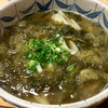 新大正庵 - 料理写真:「おぼろうどん」。