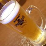 52397303 - 500円セット(500円+税)の生ビール2016年6月
