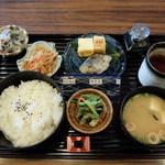 ホテルエリアワン岡山 - 朝食 サワラの西京焼き和定食