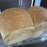 ハラペコパン - 全粒粉を使った、ミニ食パン☆