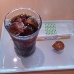 カフェ・ド・パリ - 350円アイスコーヒー