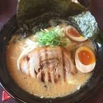 二代目てらっちょ - 江戸味噌味玉ラーメン海苔トッピング950円