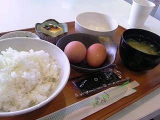 梯水産 させぼっくす99店 - 朝食:350円