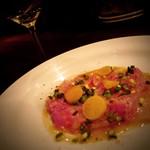 ITALIAN BAR diario - 料理写真:【スペシャリテ】クログチ鯛のカルパッチョ