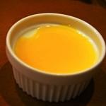 中菜Labo.朝陽 - ランチ(マンゴーソース杏仁豆腐)