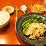 中菜Labo.朝陽 - 鼓汁清蒸魚片セット