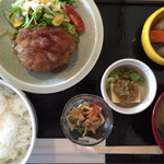 ダイニング興 - 根菜ハンバーグ膳